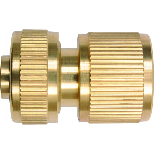 Brass hose connector 1/2''