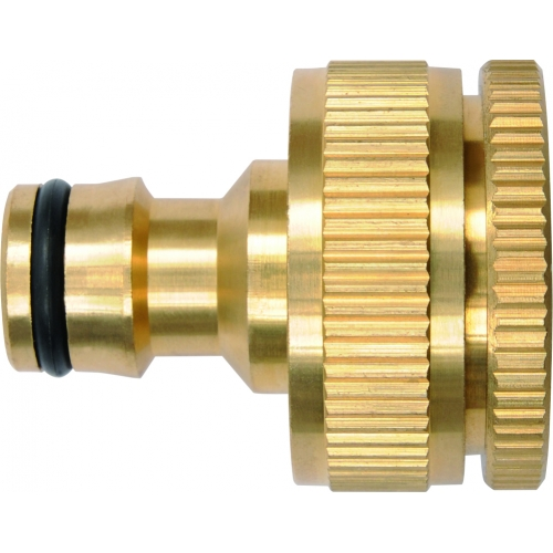Snap-in tap adaptor 3/4'' & 1''