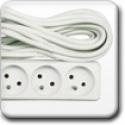 Cabluri prelungitoare tip francez