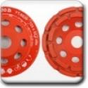 Discuri abrazive cupa pentru slefuit